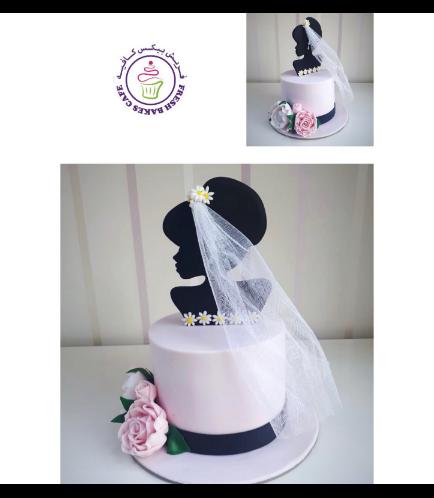 Bridal Shower Themed Cake 36