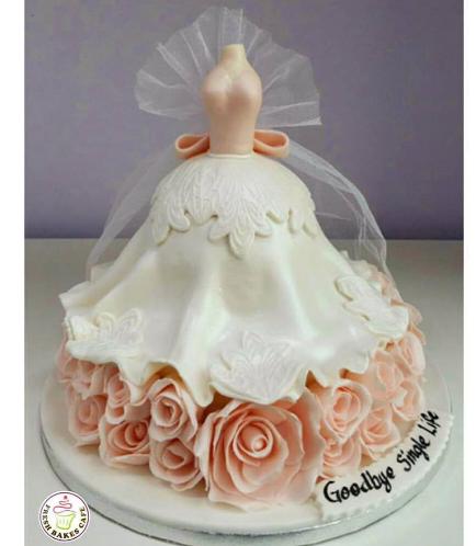 Bridal Shower Themed Cake 06b
