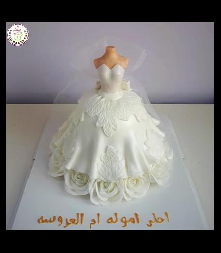 Bridal Shower Themed Cake 06c