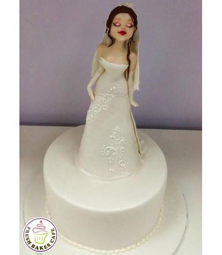 Bride Themed Cake