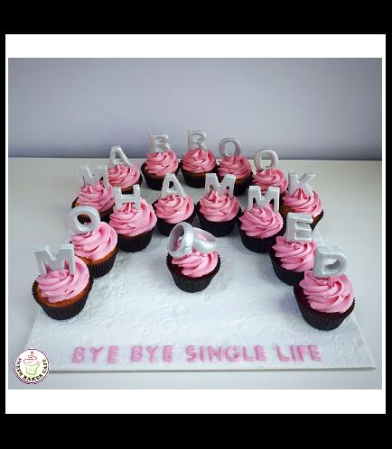 Bridal Shower Themed Cupcakes 02b