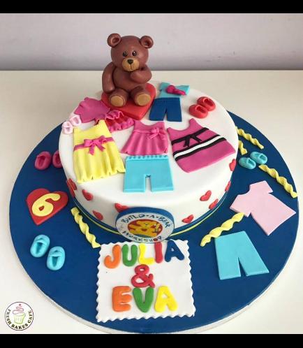Bear Themed Cake - Build-A-Bear - 3D Cake Topper 01