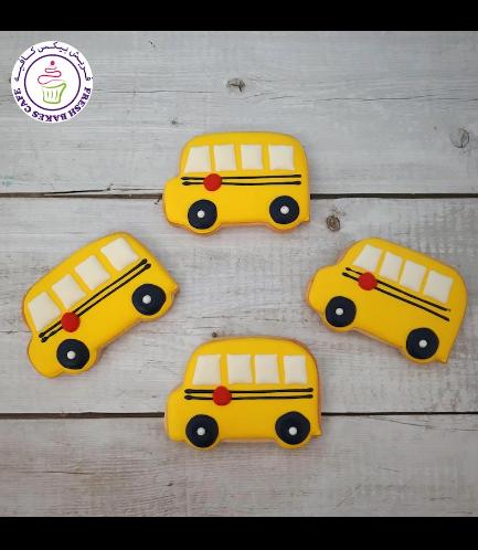 Cookies - Back to School - School Bus 02