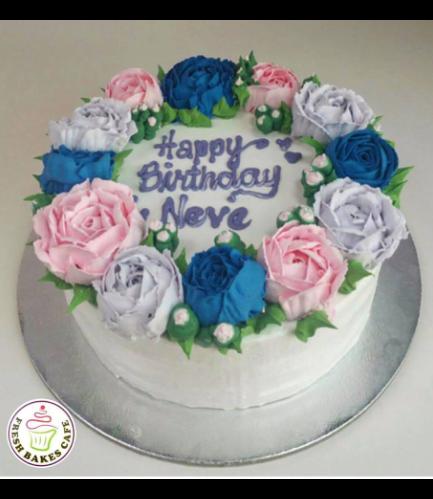 Cake - Roses 09