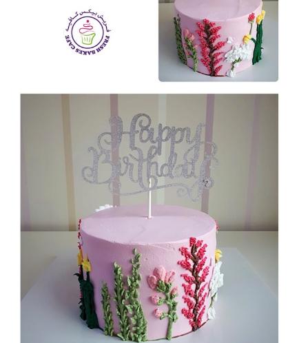 Cake - Flowers 07
