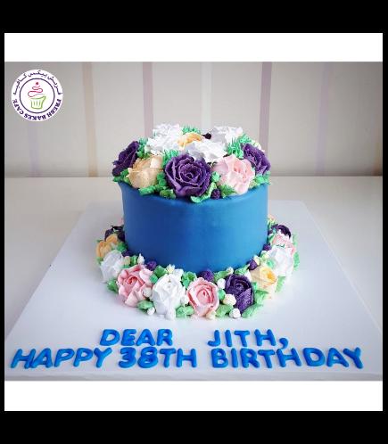 Cake - Flowers 08
