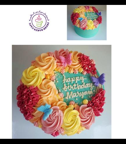 Cake - Flowers 09