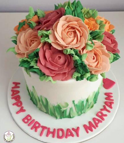 Cake - Roses 03