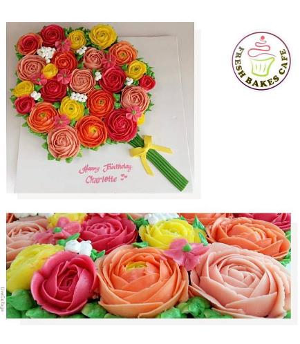 Cupcakes - Flower Bouquet 01a