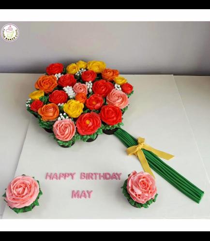 Cupcakes - Flower Bouquet 01b