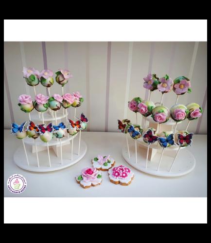 Cake Pops, Cookies, & Donut Pops - Butterflies & Flowers