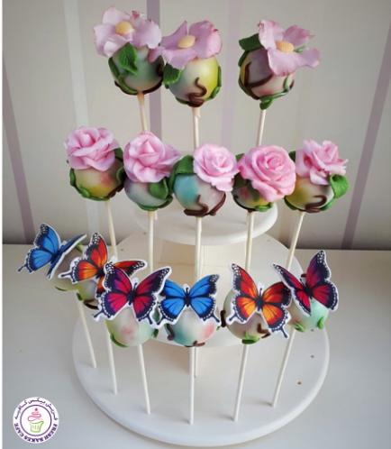 Cake Pops - Butterflies & Flowers