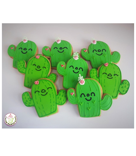 Cactus Themed Cookies 02