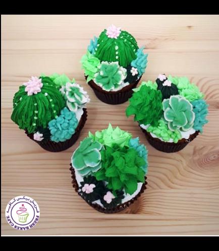Cupcakes - Cactus 2