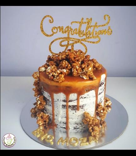 Chocolate Caramel Popcorn Cake 01