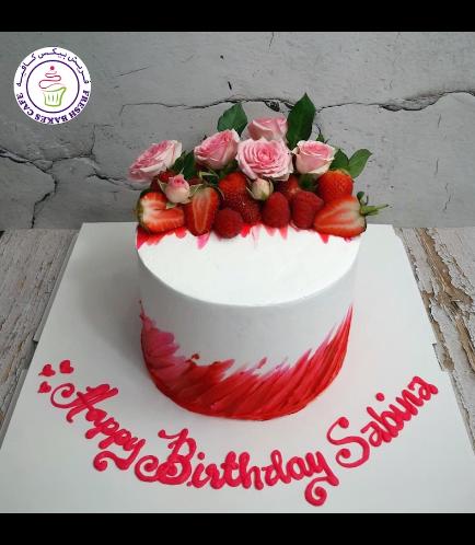 Cake - Roses & Berries 02