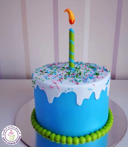 Cake - Blue