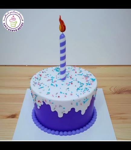Cake - Purple