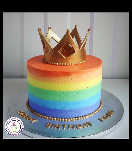 Cake - Rainbow 01