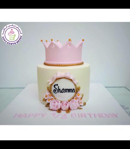 Cake - Flowers 02 - Pink Crown