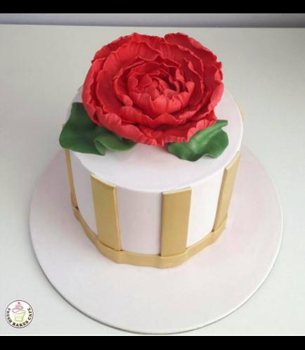 Cake - Peony 01