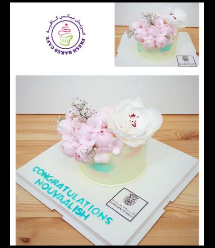 Cake - Flowers - 1 Tier 31