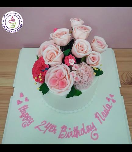 Cake - Flowers - 1 Tier 36