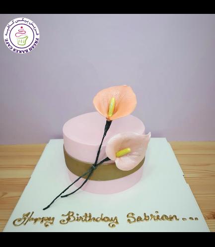 Cake - Peace Lilies