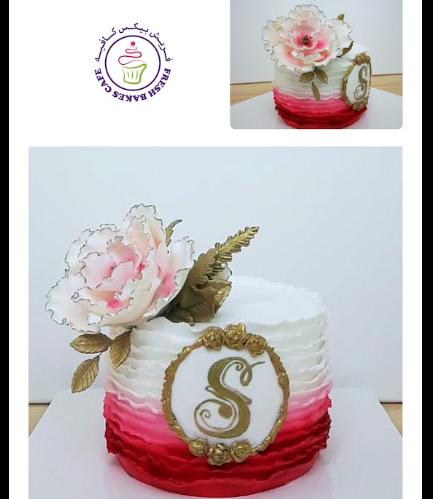 Cake - Peony 06