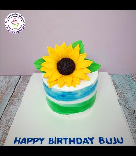 Cake - Sunflower 01