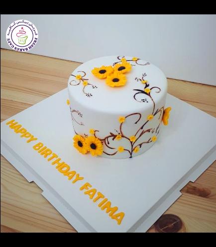 Cake - Sunflowers 04