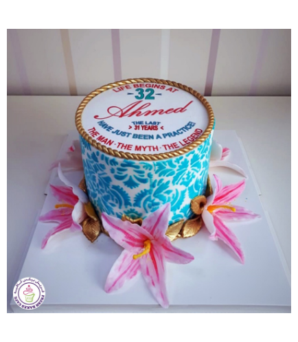 Cake with Flowers 35