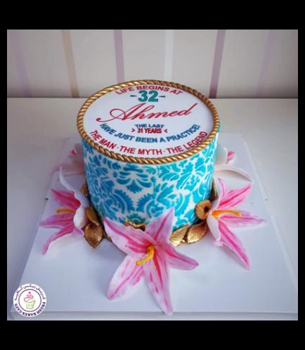 Cake - Lilies 01