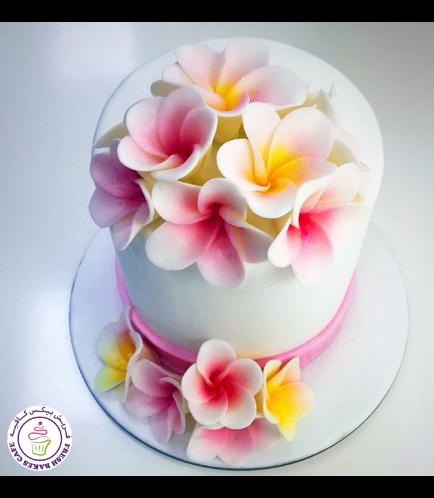 Cake - Plumeria 02a