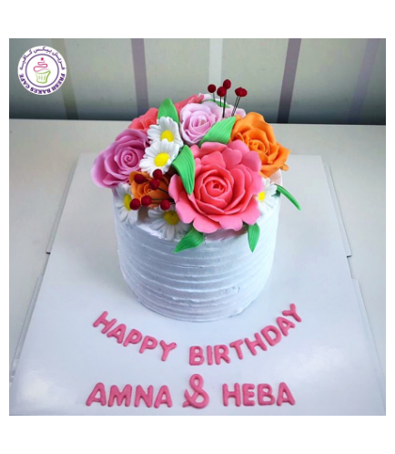 Cake with Flowers 46