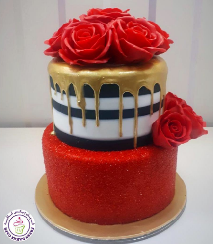 Cake with Roses 21