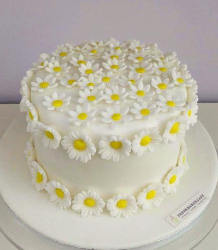 Cake - Daisies 01