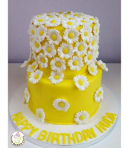 Cake - Daisies 02