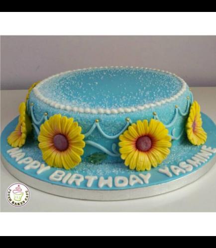 Cake - Sunflowers 01