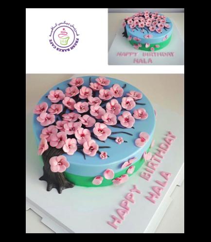 Cake - Cherry Blossom 01