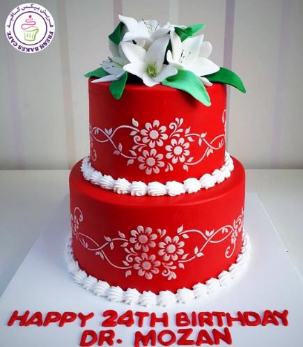 Cake - Lilies 02