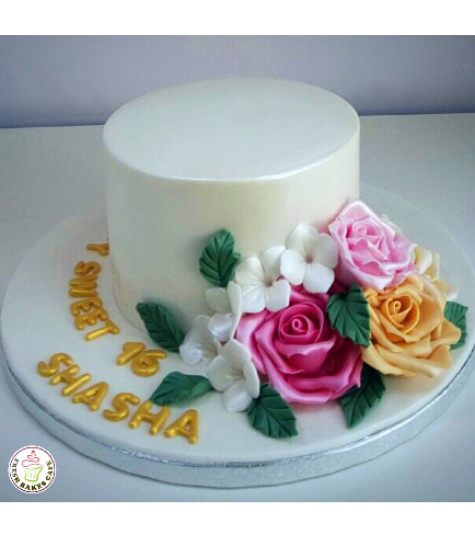 Cake with Roses 27