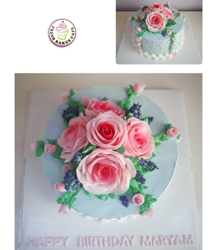 Cake with Flowers 27