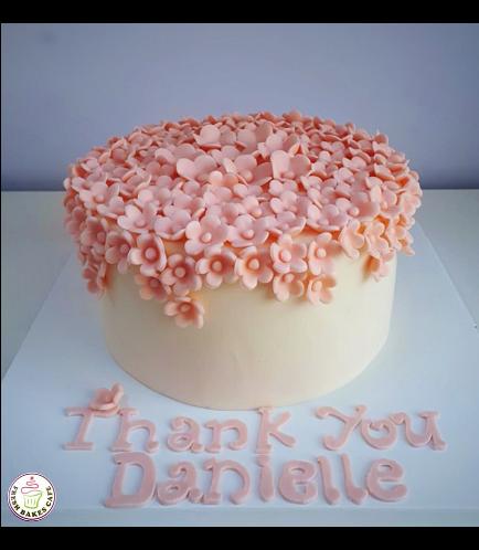Cake - Flowers - 1 Tier 19