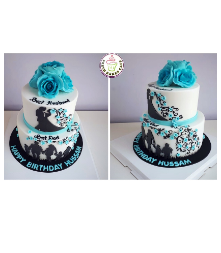 Cake with Flowers 42b