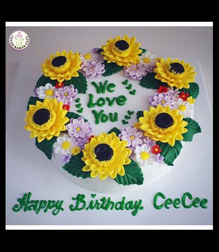 Cake - Sunflowers 02