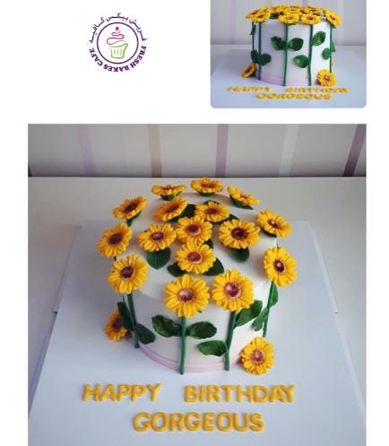 Cake - Sunflowers 03