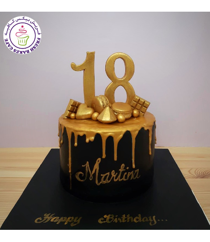 Cake - Macarons & 3D Cake Toppers