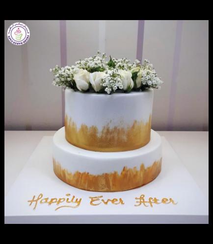 Cake - Roses - 2 Tier