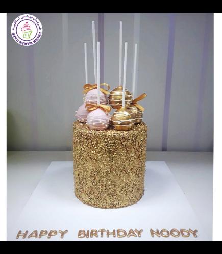 Cake with Sprinkles & Cake Pops
